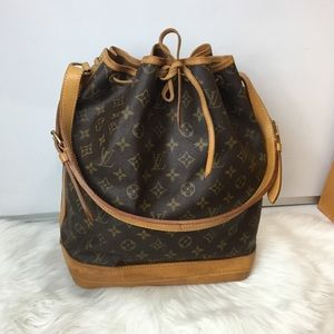 100% Authentic Louis Vuitton  Noe GM Shoulder Bag
